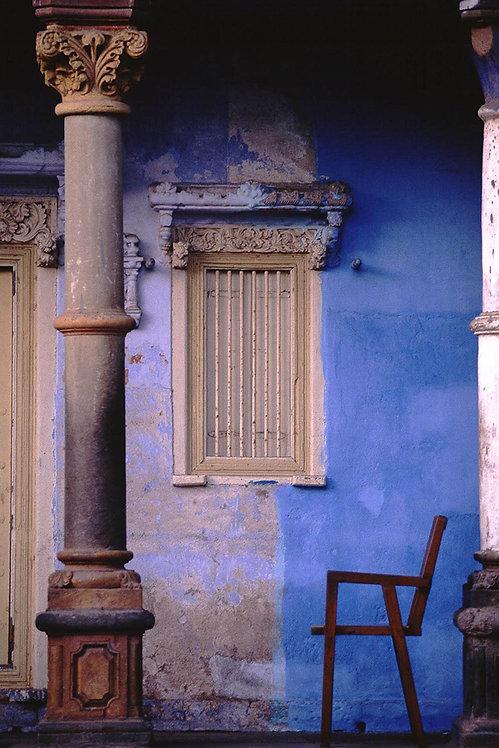 Pillar and a Chair