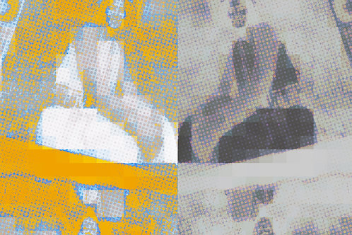 "Yellow Reflection | 16""x10"" | 2020"