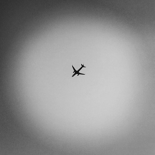 "Grey Sky, Archival Pigment Print, 12""x12"", Abul Kalam Azad, 2013 - 15"