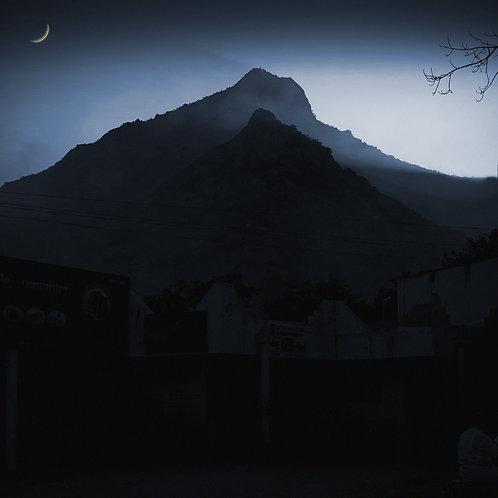 "Moon Crescent, Archival Pigment Print, 24""x24"", Abul Kalam Azad"
