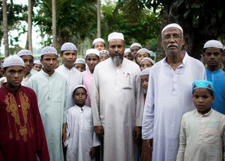 Over hundreds of Muslims youth study at Mozaherul Ulum Islamia Madrassa in Dhubri.