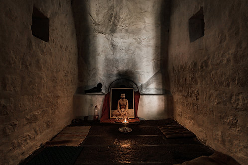 "Saint Ramana - the light, 30""x20"", Archival Pigment Print, Biju Ibrahim"