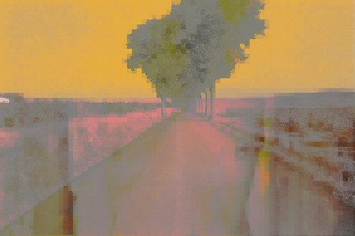 "Yellow Sky | 30""x 20"" | 2020"