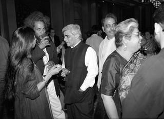 Raisa Husain, Vishwanadhan, Vivan Sundaram, Shamshad Husian and Mrinalini Mukherjee, Delhi Public and Private © Ram Rahman 1998