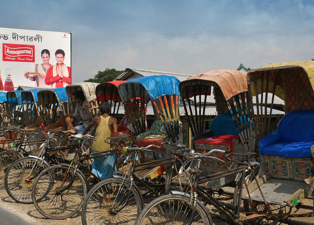 Bangladeshi immigrants earn their living by bicycle rickshaw business. Their is no anthropology differences between Indian and Bangladeshi that's makes it harder to trace who is legal or illegal. During the Bangladesh Pakistan war millions fled to India as a refugees