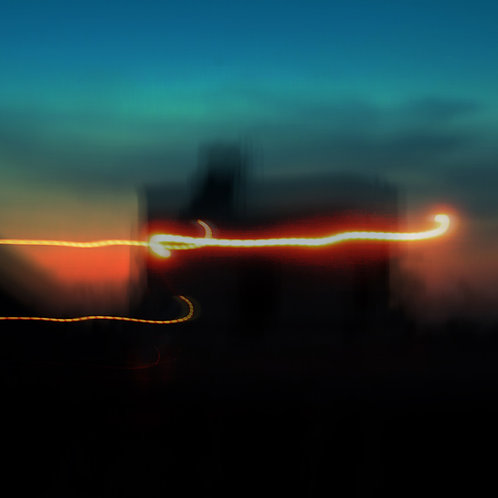 "Dancing Light, Archival Pigment Print, 24""x24"", Abul Kalam Azad, 2010"