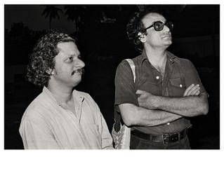 Film Directors Adoor Gopalakrishnan and Mani Kaul