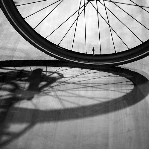 """Bicycle, Archival Pigment Print, 12""""x12"""", Mohamed A"""