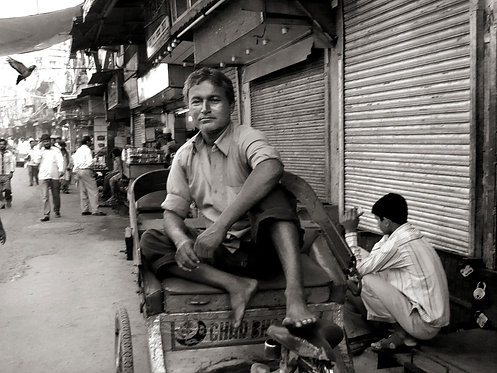 Rikshawala, Old Delhi 2013