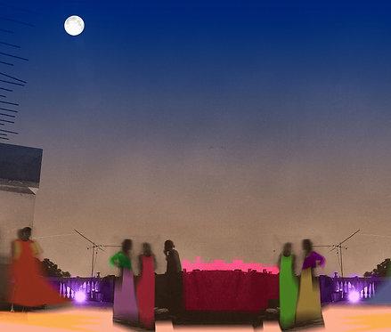 Moon In my Terrace, 2020