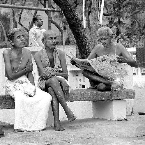 The Morning, Sri Ramana Ashram 2012