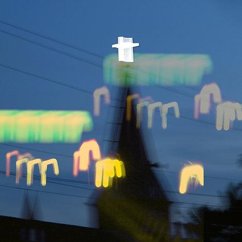 "Christmas Eve, Archival Pigment Print, 24""x24"", Abul Kalam Azad, 2010"