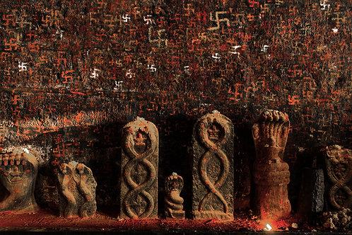 "Snake Goddess, 30""x20"", Archival Pigment Print, Biju Ibrahim"