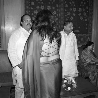 Amar Singh, Moon Moon Sen, Mulayam Singh Yadav, Delhi Public and Private © Ram Rahman 1998