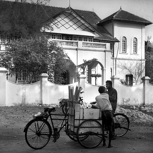 Icecream Seller, Fort Kochin 1990