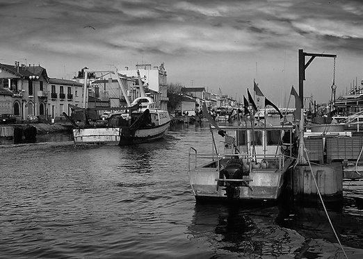 Mediterranean Fishing Village
