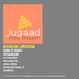 Curtain Raiser story about Artists Pledge | Jugaad Foto Bazaar project initiated by Ekalokam Trust for Photography to support photographers during Covid Pandemic