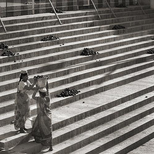 "Steps, Archival Pigment Print, 30""x30"", Abul Kalam Azad"