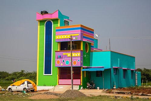 "Colors of Tiruvannamalai, Archival Pigment Print, 20""x30"", Dinesh Khanna"