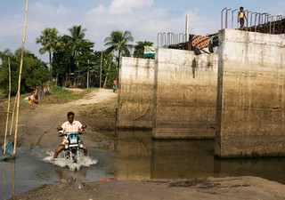 Several roads and bridges are incomplete for a long time in Assam. Locals say the government is not doing enough to build infrastructure and illegal immigration