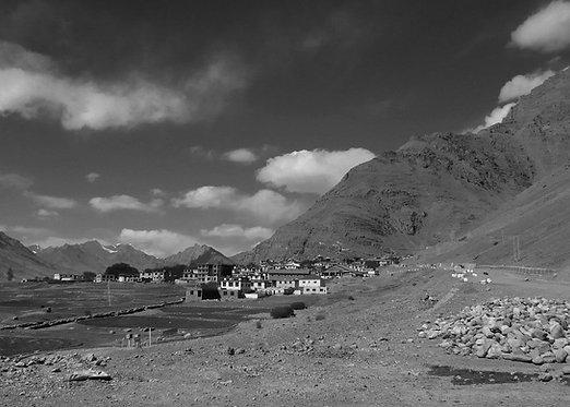 The Himalayan town, Kaza, 2013