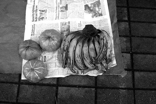 Pumpkin and Banana, Goa, 2010