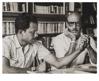 Mayalam short story writer MT Vasudevan Nair andMalayalam Novelist Vaikkom Mohamed Basheer