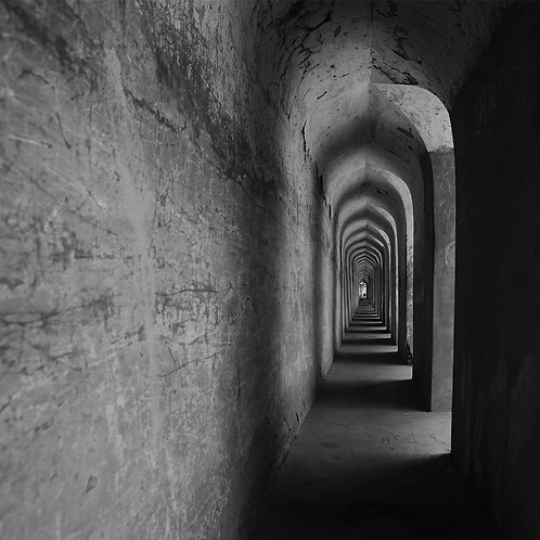 "Corridor, Archival Pigment Print, 12""x12"", Mohamed A"