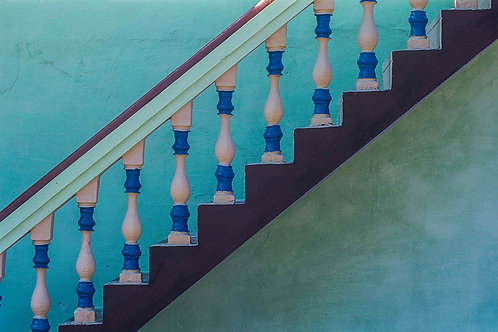 "Steps, Archival Pigment Print, 30""x20"", Dinesh Khanna"