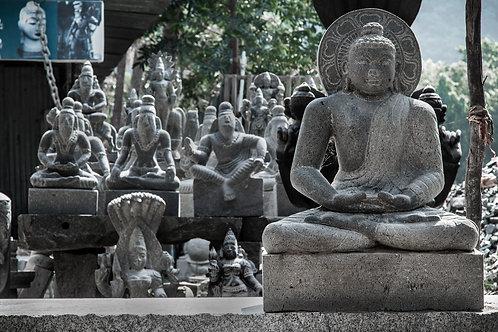 """The Buddha, 30""""x20"""", Archival Pigment Print, Biju Ibrahim"""