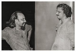 Film directors K Ravindran and Adoor Gopalakrishnan