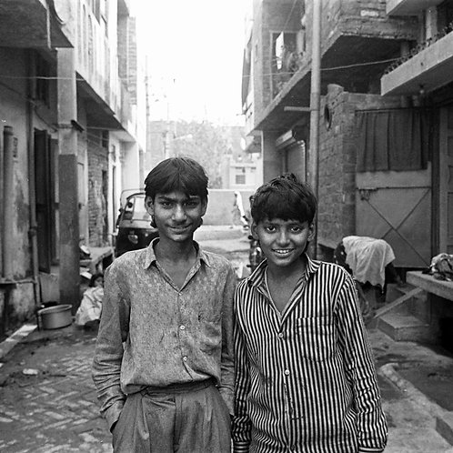 Two Smiling Boys, 1992