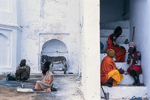 "Sadhu Life, Archival Pigment Print, 30""x20"", Dinesh Khanna"