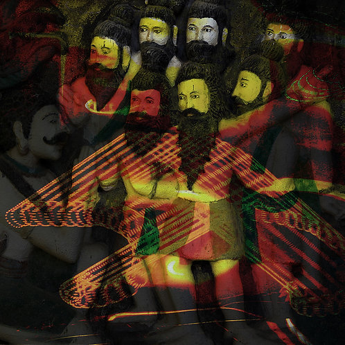 "Saptharishi, Archival Pigment Print, 24""x24"", Abul Kalam Azad, 2010"