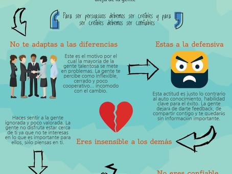 5 actitudes que arruinan tus relaciones