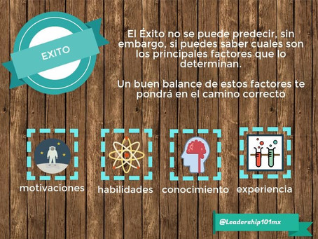 Los cuatro factores del Éxito!
