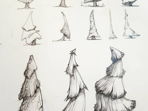 On trees and shape design