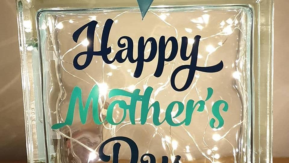 Happy Mothers Day Light Block