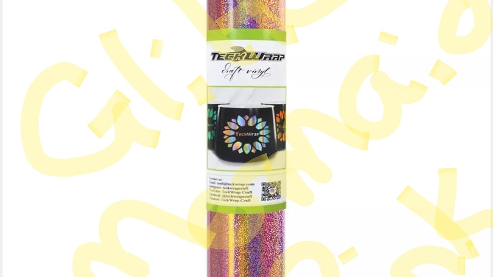 Teckwrap holographic Sparkle sa 12in x 5ft