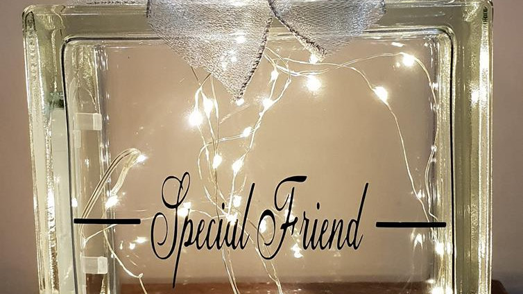 Special friend/friends light block