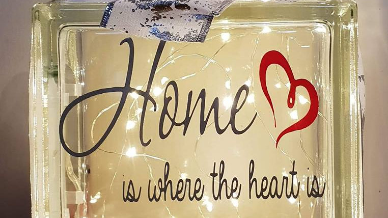Home is where the heart is light block