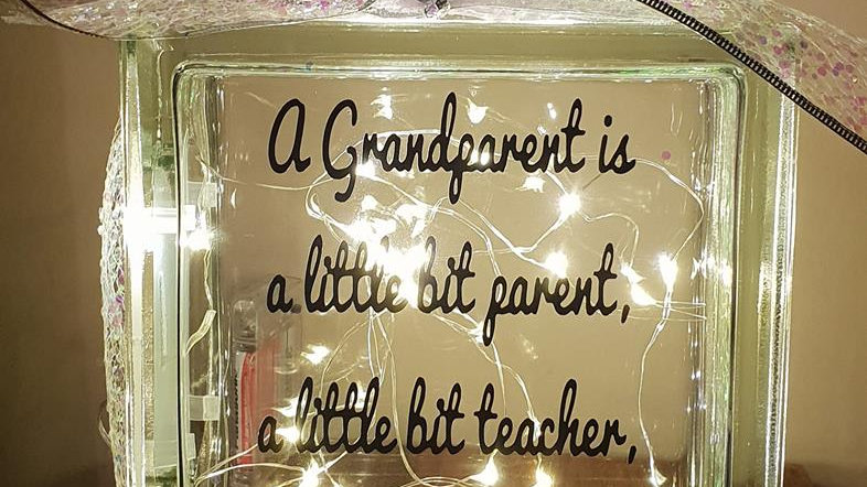 A grandparent is ...... light block