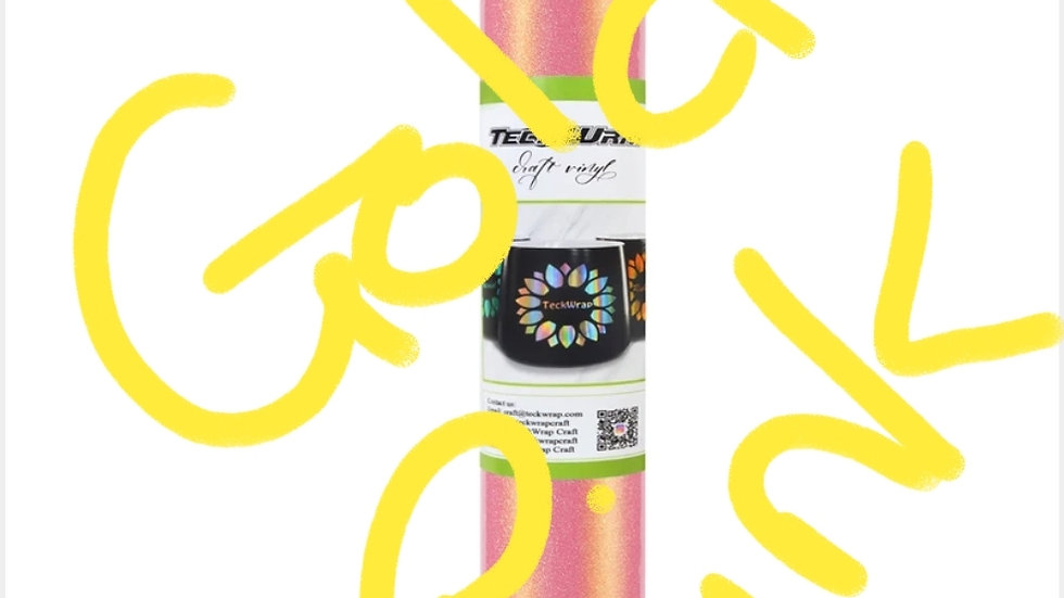 Shimmer teckwrap SAV Vinyl - 12in x 5ft