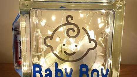 Baby Boy Light Block