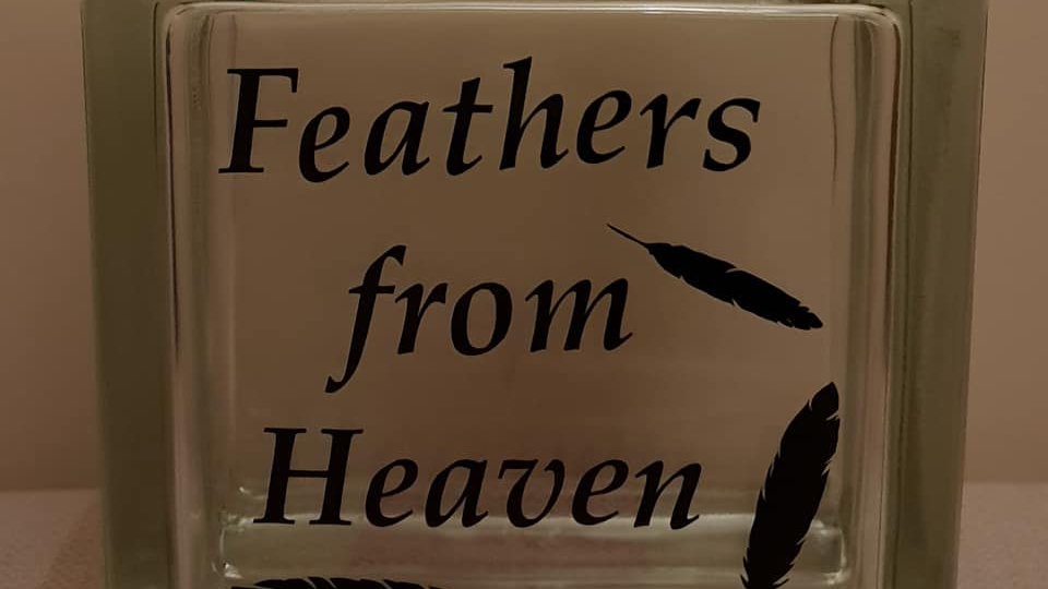 Feathers from Heaven storage jar
