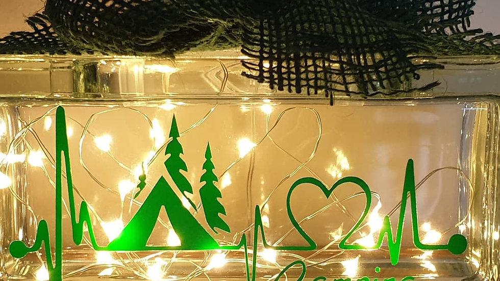 Camping light block