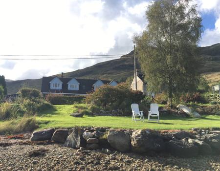 Loch-side garden