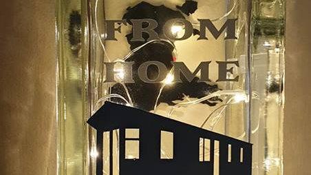 Home from home static caravan light block