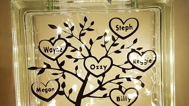 Family tree light block