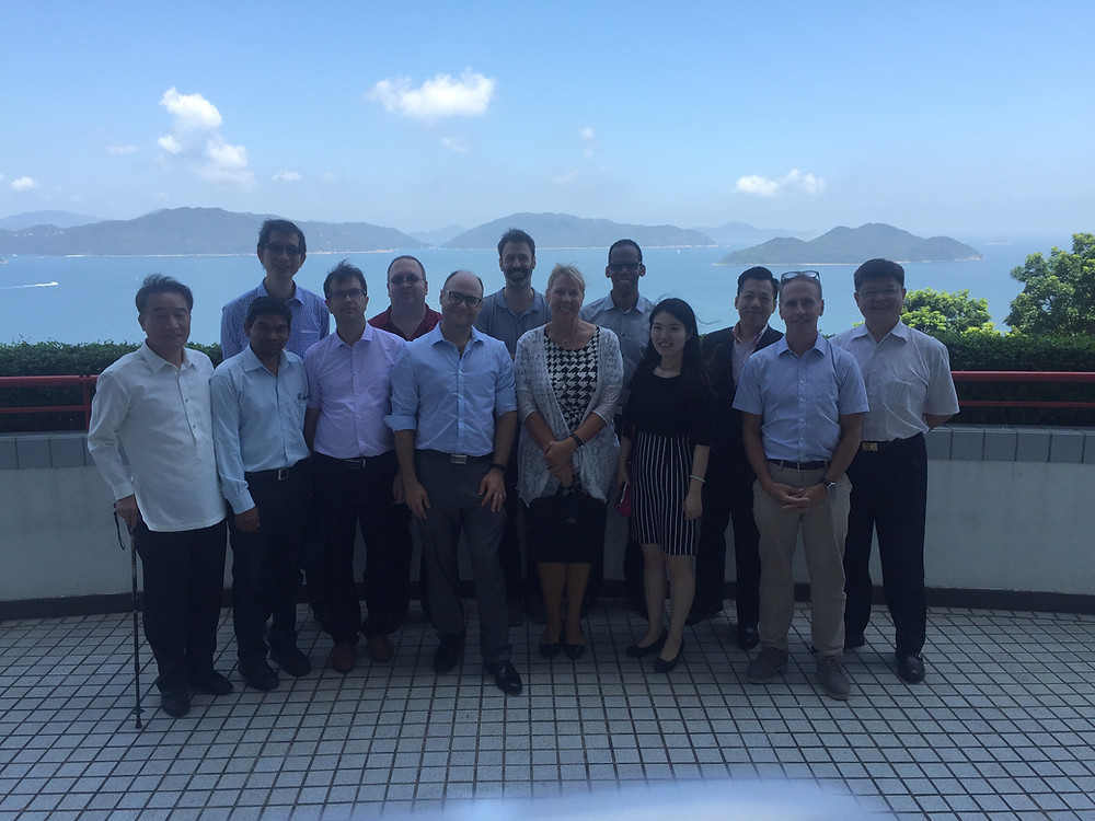 Directors from seven affiliates in Asia met for training in Hong Kong.